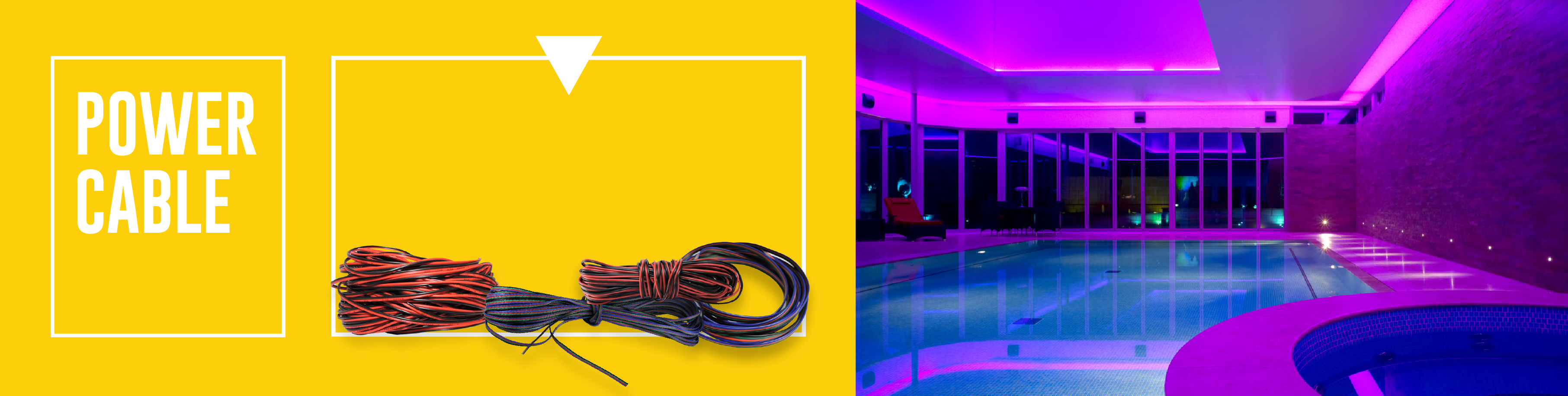 Power Cable for LEDs